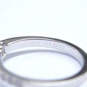 6689523bd1a5a Tiffany & Co Platinum Novo Diamond Engagement Ring